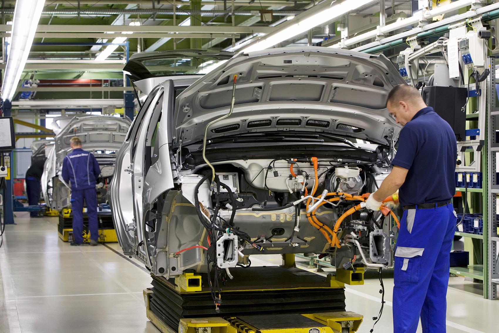 Otomotiv sektöründe makine tasarım